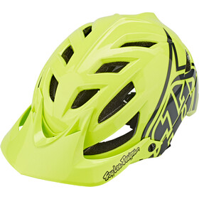 Troy Lee Designs A1 Casco Ragazzi, drone glow green